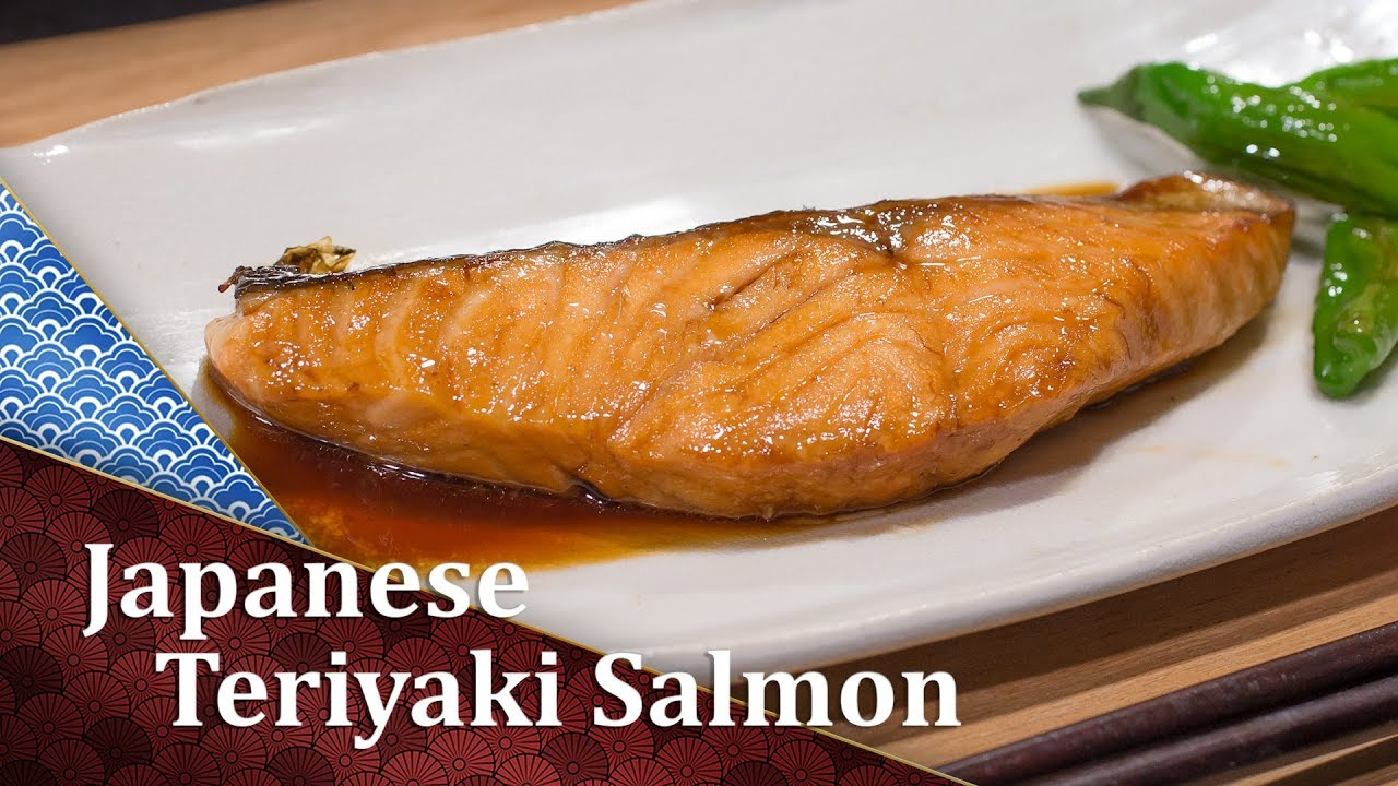How To Cook Teriyaki Salmon Cooking Japanese Youtube