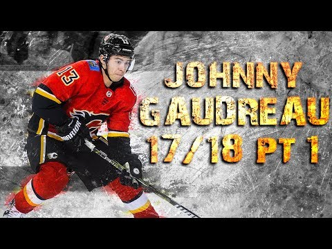 Johnny Gaudreau - 2017/2018 Highlights - Part 1