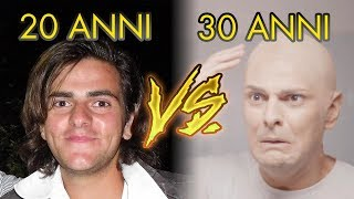 20 ANNI VS 30 ANNI - Le Differenze - iPantellas