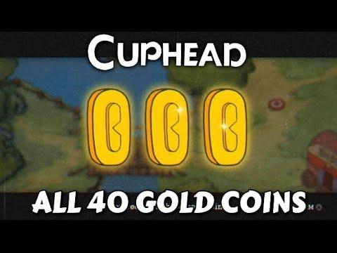 Cuphead - All 40 Coins Guide for Upgrades (Porkrind's Emporium Shop) - Achievement Guide (Secret)