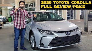 2020 Toyota Corolla Full Review | Urdu | Hindi