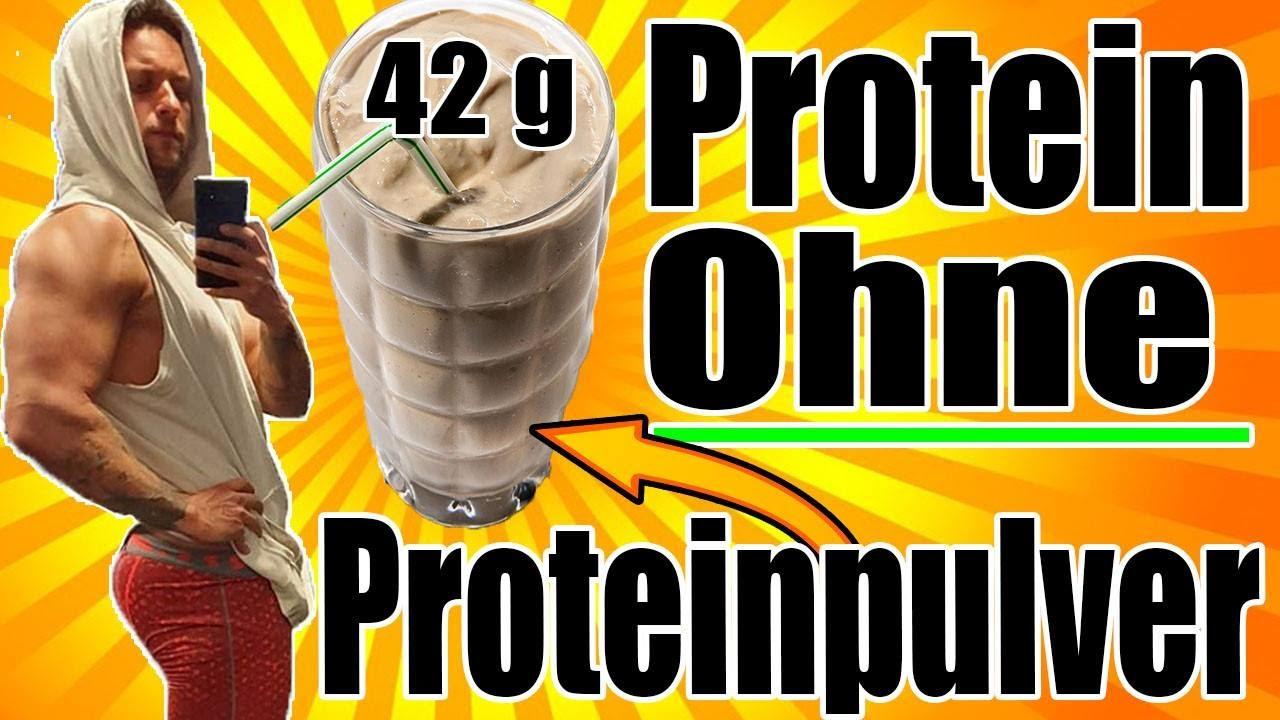 Wie man einen Proteinshake ohne Proteinpulver macht + Rezept