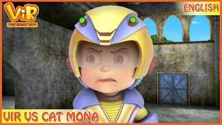 Vir: The Robot Boy   Vir Vs Cat Mona   English Episodes   Action cartoons for Kids