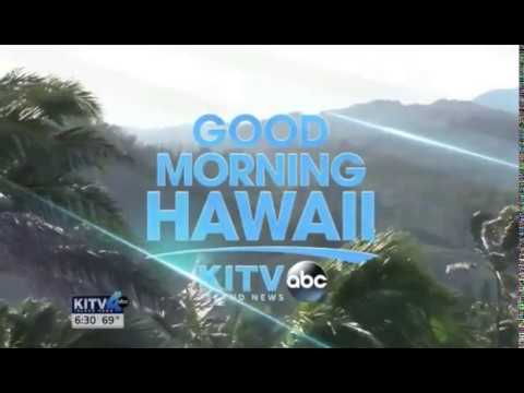 "KITV Island News' ""Good Morning Hawaii"" open (3-16-17)"