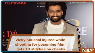 Vicky Kaushal injured while shooting for horror film; gets 13 stitches on cheeks