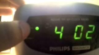 Philips Magnavox Dual Alarn Clock