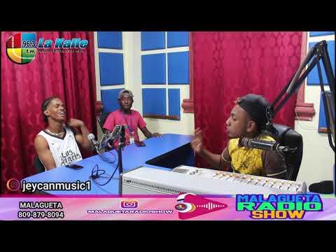 Jeycan  Con 100 Temas Rumbo A Barbuda  ✈️  -MalaguetaRadioShow