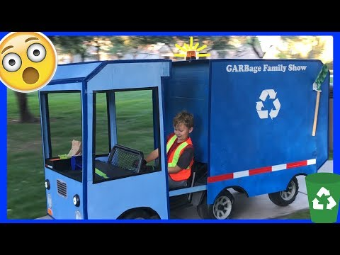 How To Make Your Own Recycling Toy Truck - That Really Works!
