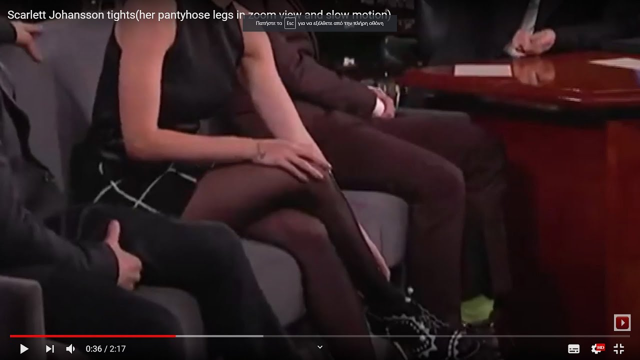 Stockings scarlett johansson Scarlett Johansson