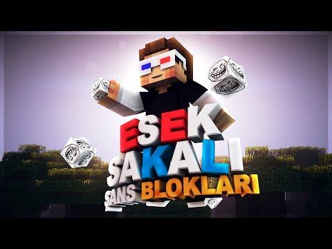 EŞEK ŞAKALI ŞANS BLOKLARI! - Minecraft TROLL AGA ŞANS BLOKLARI!