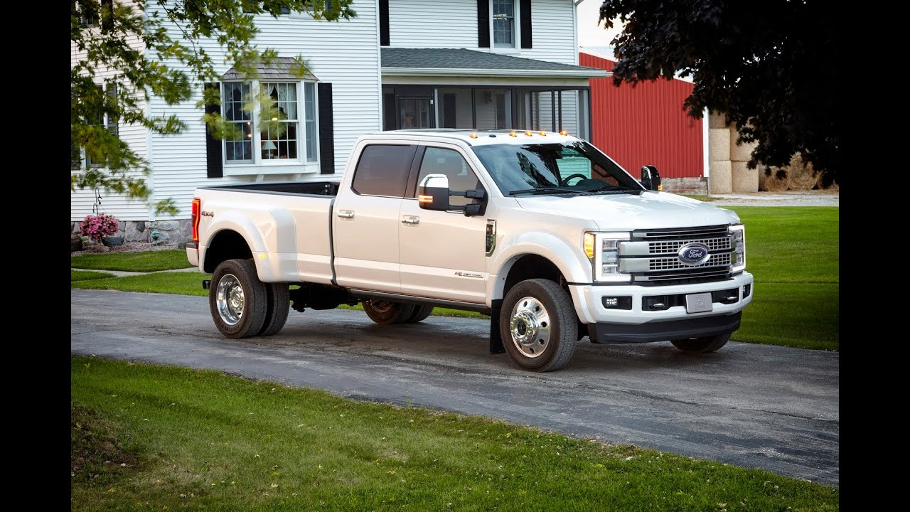 2017 ford super duty platinum f450 youtube. Black Bedroom Furniture Sets. Home Design Ideas