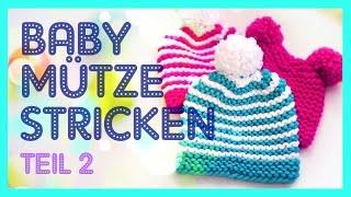 Mütze Mit 2 Bommel Baby Wccf