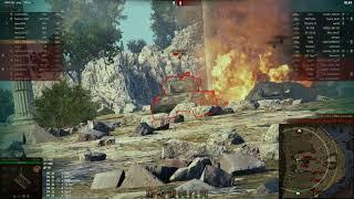 Т-54 перший зразок, Скеля, Стандартний бій