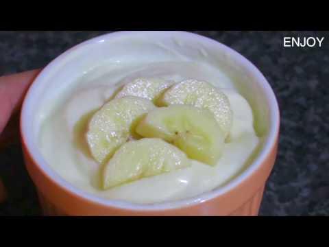 Breakfast Recipes : Healthy Greek Yogurt with Banana Recipe : กรีกโยเกิร์ตกล้วยหอม
