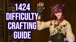 Ffxiv 2.35 0390 Expert Crafting (1424 Difficulty)