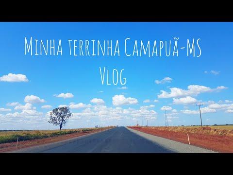 Vlog | Conhecendo um pouquinho de Camapuã-MS! Um pulo na minha cidade natal! | almoço beneficente