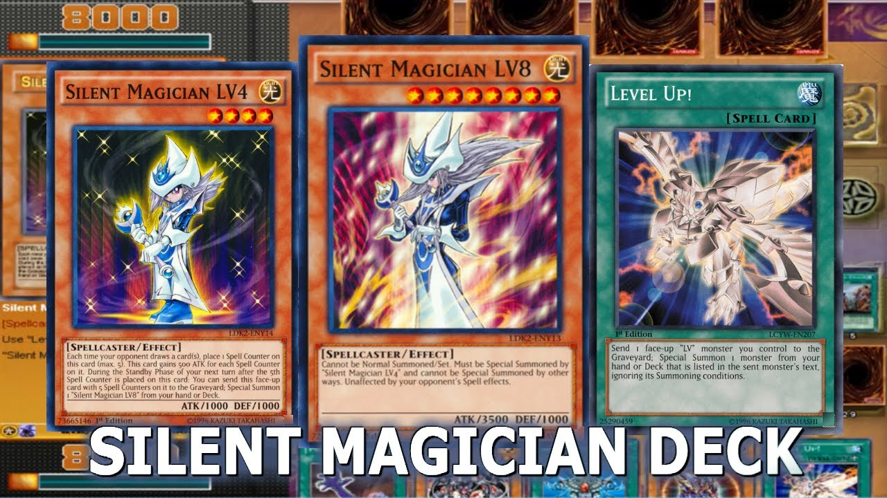 yu gi oh power of chaos the legend reborn silent magician deck
