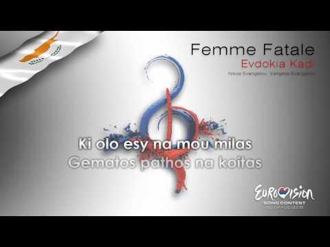 "Evodikia Kadi - ""Femme Fatale"" (Cyprus) - [Karaoke version]"