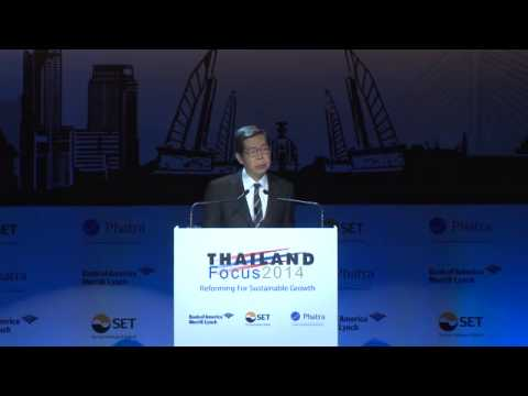 Thailand Focus 2014 : Achieving Thailand's True Growth Potentials: The Role of the Central Bank