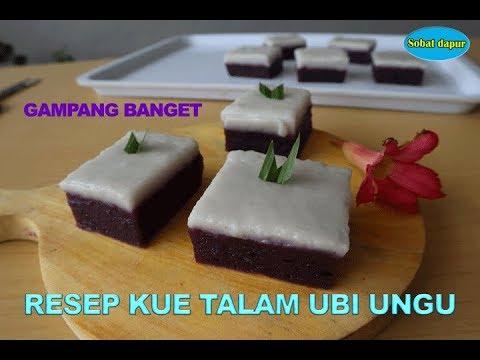 Cara Buat Kue Talam Ubi Ungu Gampang Dan Enak