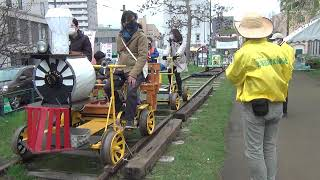 GWにトロッコ乗車体験 小樽でレールカーニバル画像