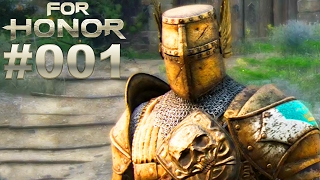 FOR HONOR STORY MODUS #001 Ritter Story ★ Let's Play For Honor [Deutsch]