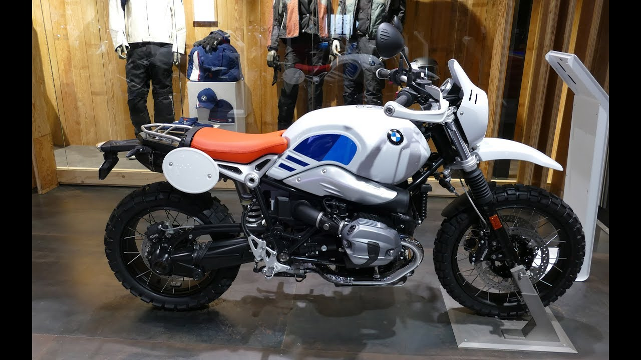 2019 BMW R nine T Urban G/S - YouTube