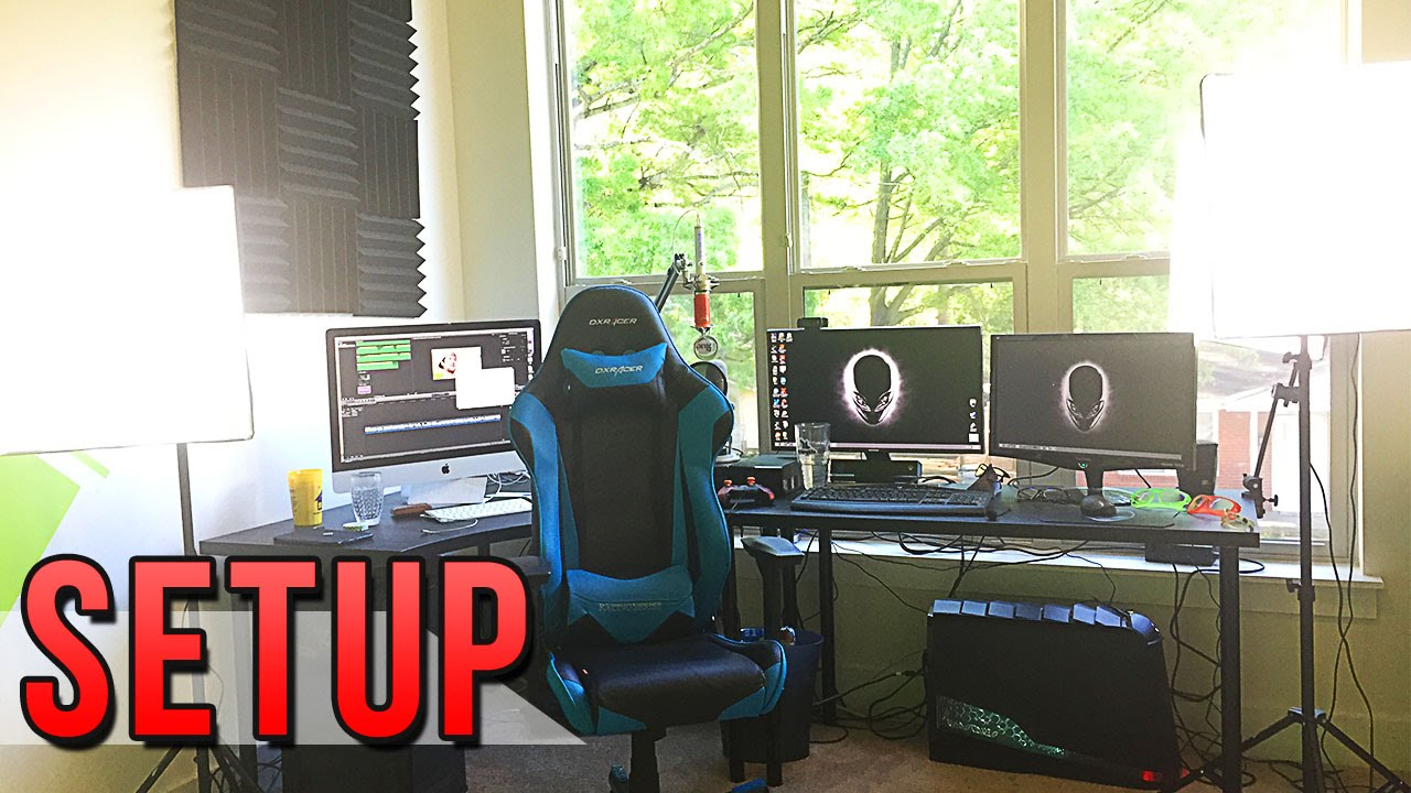 AWESOME GAMING SETUP |  MY OFFICE SETUP VIDEO