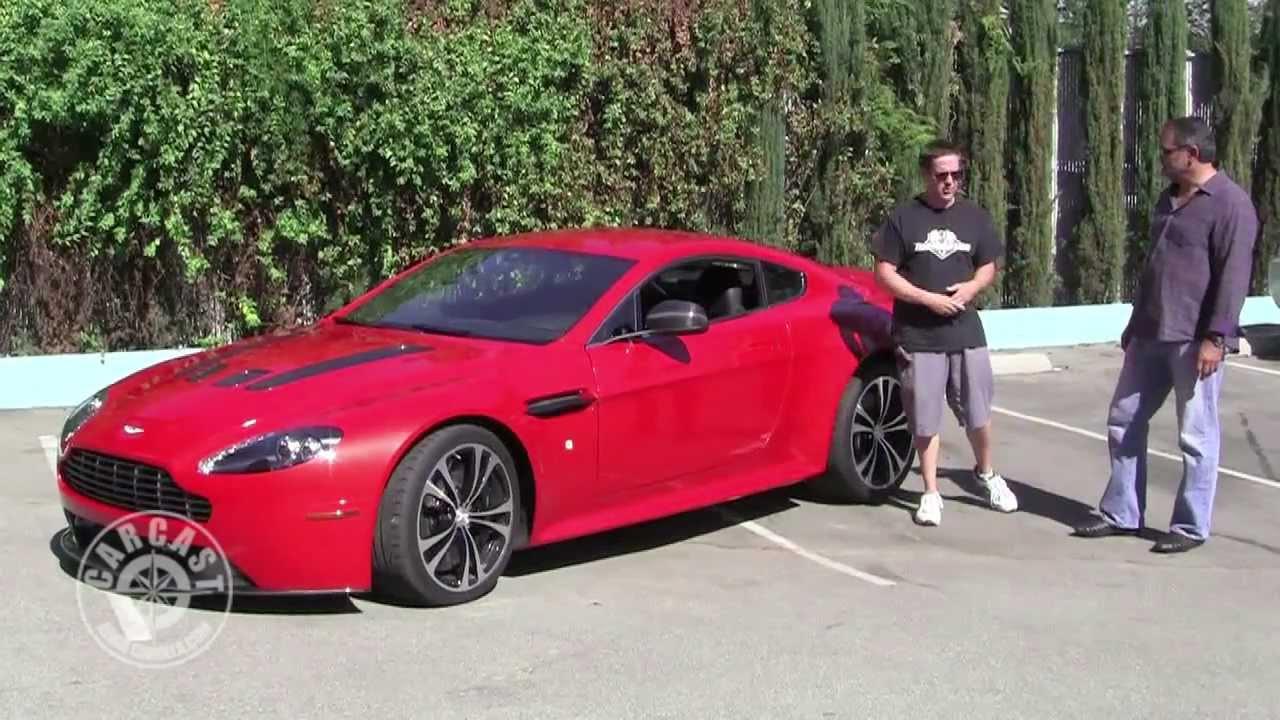 Aston Martin Vantage V12 On Carcast With Adam Carolla