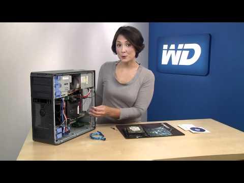 WD Caviar Green 3TB Hard Drive Installation Demo