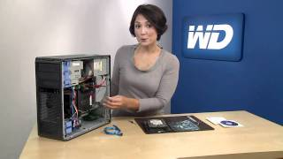 WD Caviar Green 3TB Hard Drive Installation Demo