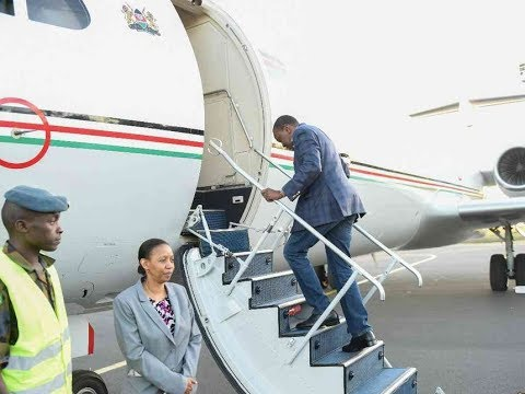 Uhuru leaves for Italy, to attend G7 summit