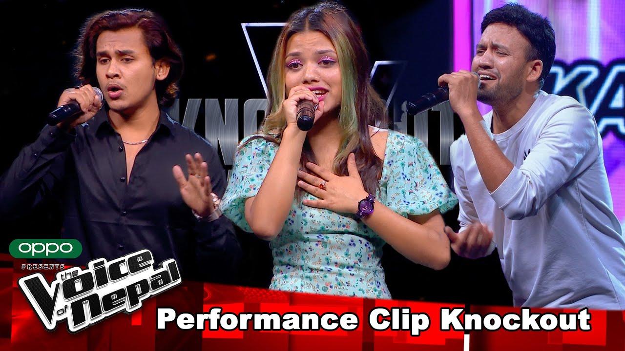 Download Sagar Vs Suraksha Vs Karna   Knockout  The Voice of Nepal Season 3 - 2021