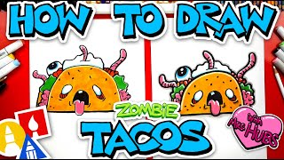 How To Draw Zombie Tacos