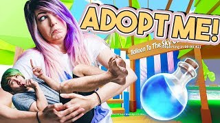 BECOMING GIANTS! | Adopt Me! | ROBLOX Roleplay #6