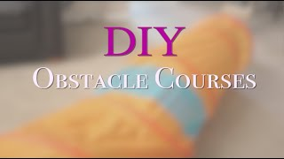 Indoor Obstacle Course for Toddlers and Preschool