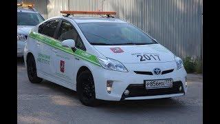 В Керчи побывали участники автопробега на электромобилях