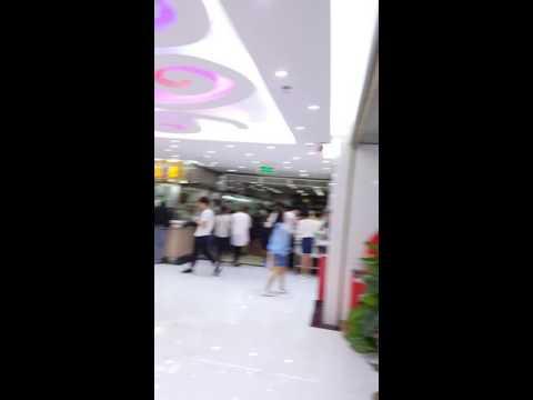 A great shopping area in guangzhou