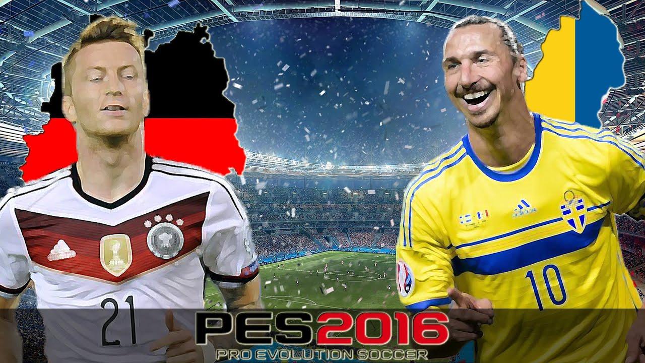 Deutschland Vs Schweden
