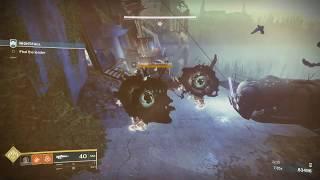 Destiny 2 solo the nightfall lake of shadows with 100k score
