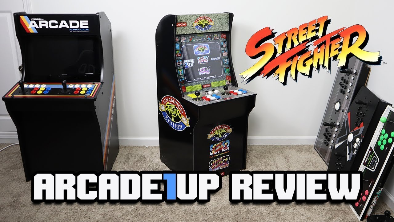 Arcade 1up Full Review Street Fighter Edition Is It Worth 300