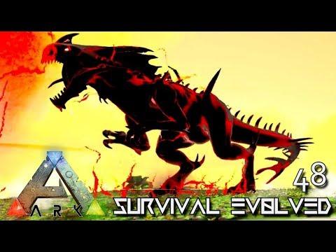 ARK: SURVIVAL EVOLVED - TAMED PRIMORDIAL REAPER SUPREME E48 !!! ( ARK EXTINCTION CORE MODDED )