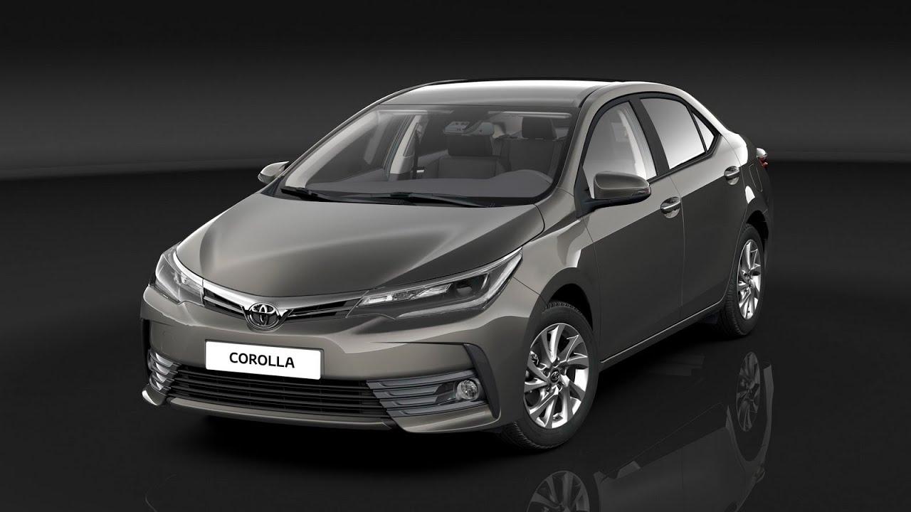 2017 Fresh Updated Toyota Corolla Europe Spec Model