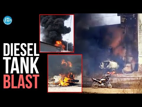 Diesel Tank Blast in Uppal || Several People Injured || Hyderabad || iDream News