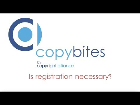 """Copybites by Copyright Alliance """"Is Registration Necessary?"""""""