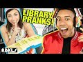 LEGO Library Pranks!–REBRICKULOUS