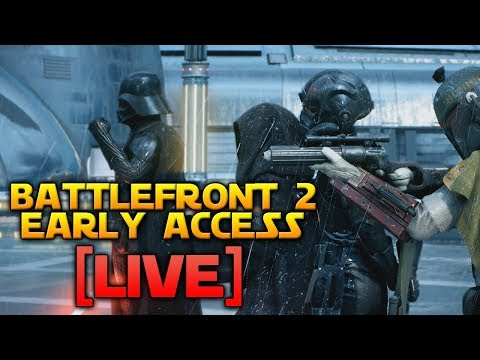 BATTLEFRONT 2 EARLY ACCESS! (Multiplayer Gameplay)
