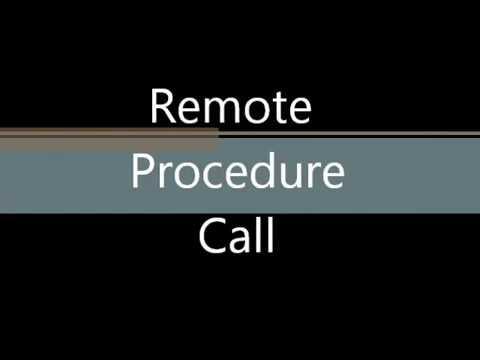 Remote Procedure Call