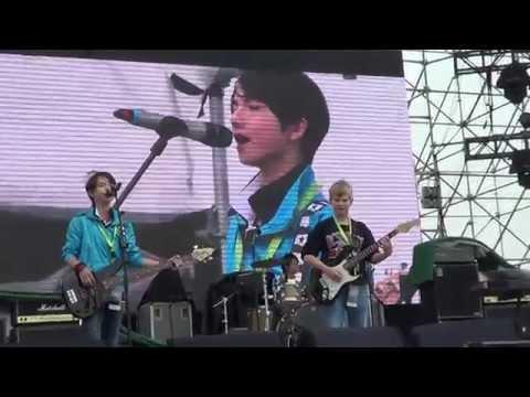 "#StarKids Blue Fire-2014 Shanghai MIDI Festival ""You give love a bad name"""