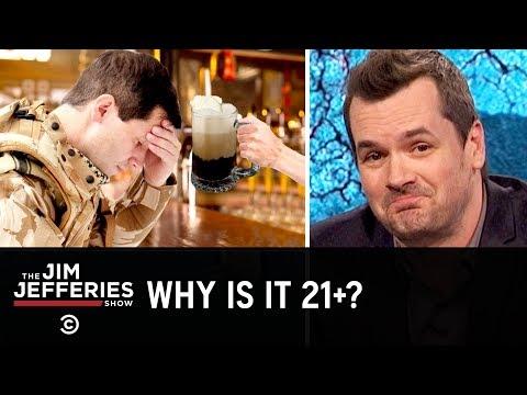 America's Drinking Age Makes No Sense - The Jim Jefferies Show